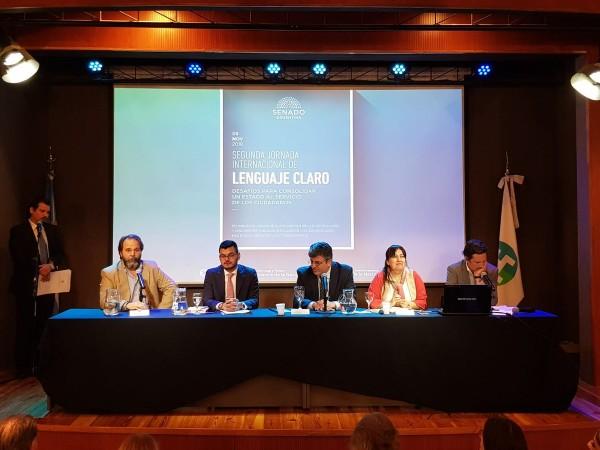 II Jornada Internacional de Lenguaje Claro: desafíos para consolidar un Estado al servicio de los ciudadanos.