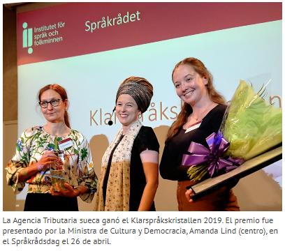 Lenguaje claro en Suecia