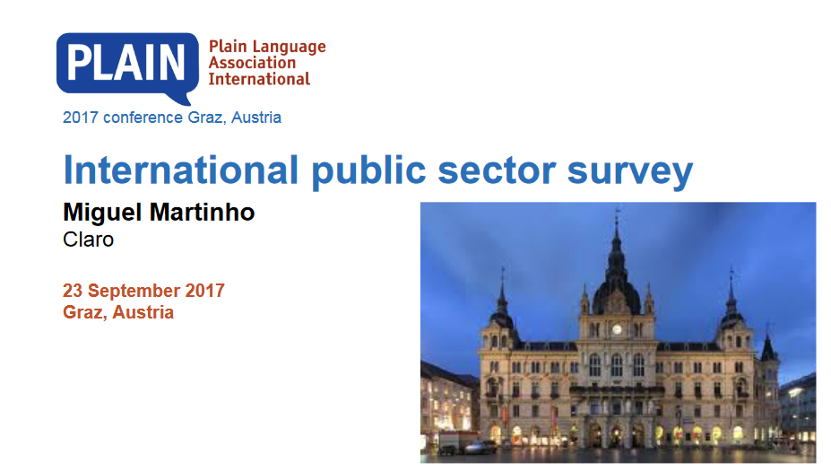 International public sector survey