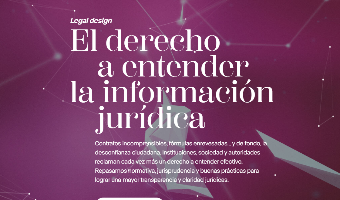 El derecho a entender la información jurídica