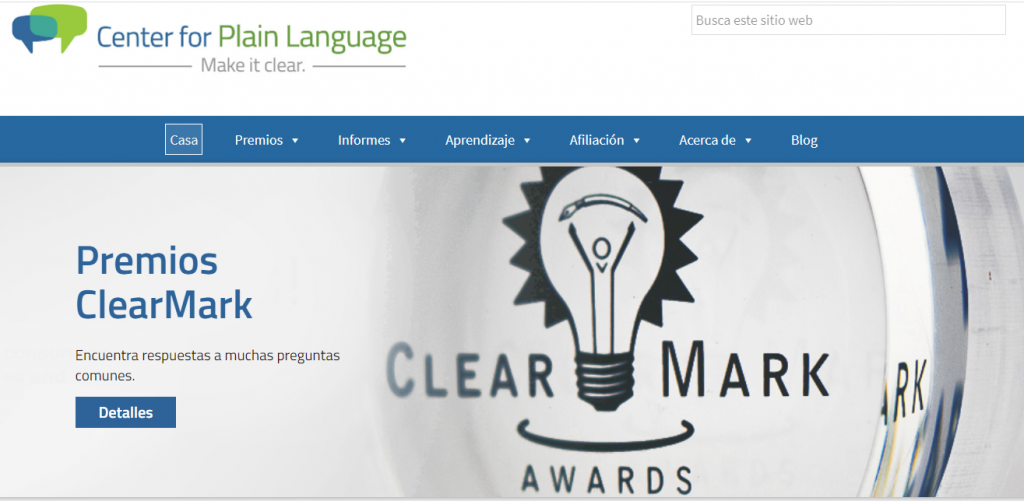 Center for Plain Language