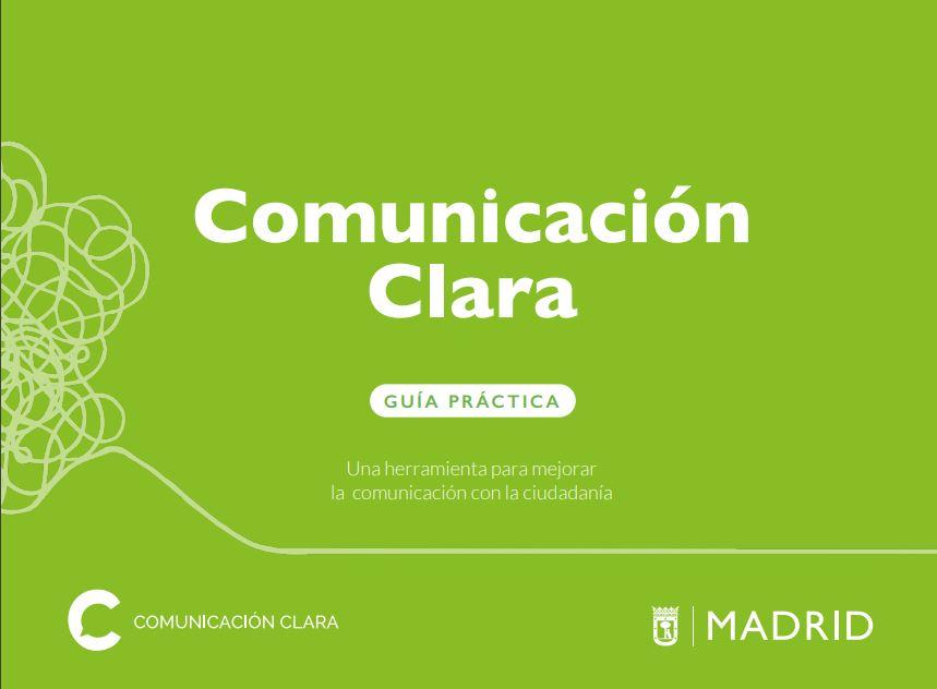 Guia de comunicacion clara del Ayuntamiento de Madrid