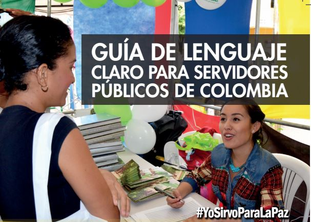 Guia de lenguaje claro para servidores publicos de Colombia