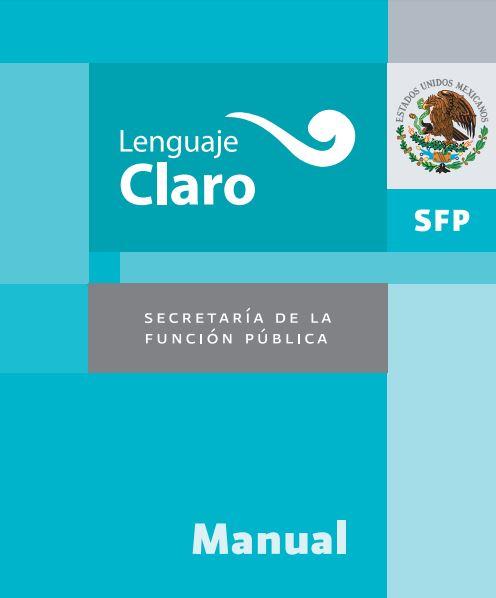 Manual de Lenguaje Claro de México