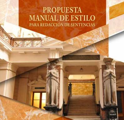 Propuesta Manual de Estilo para Redacción de Sentencias